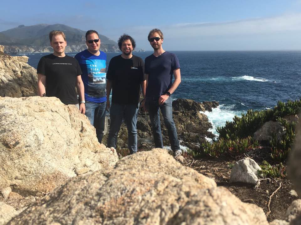 The WWDC 2016 crew at Big Sur.